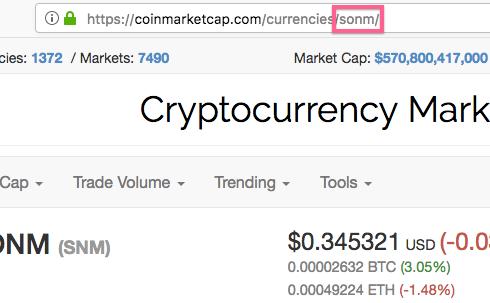 Copy Coin ID
